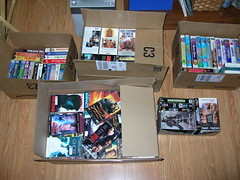 boxes of movies