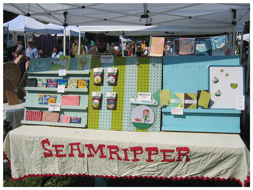 Renegade craft fair -seamripper display