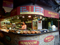 Moroccan Food Stall, Camden Market