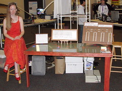 Lenore, LED dining table.