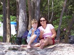 Joe and Lyn on Kailua Beach