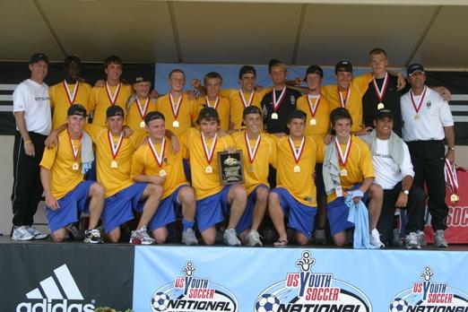 Scott Gallagher SC - U17 Boys Region 2 Champs