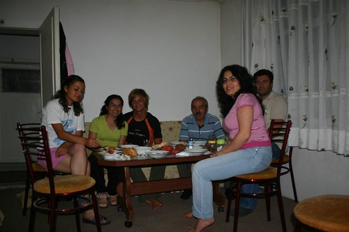 Gathering around the table is the favourite pastime in any Turkish family, I guess...