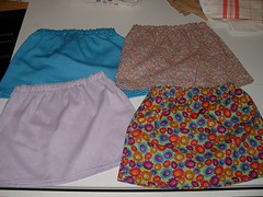 4 Little skirts for my Anna