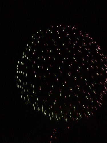 Fireworks at Fisherman's Wharf