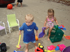 Kiddos and toys