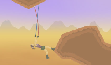 Escalando voy, videojuego de escalada