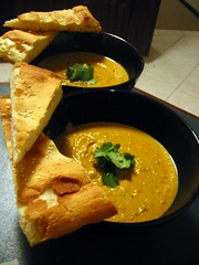 Spiced Roast Pumpkin Soup