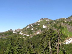 Our destination today - Yellow Aster Butte (true summit isn't visible yet)