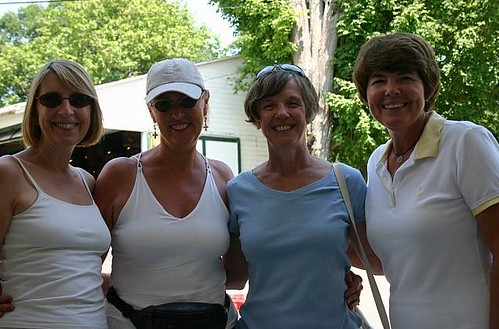Linda Hanson, Linda Davidson, Barb Bunce and Shirley Adams