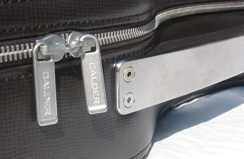 Calder Guitar Case Electric handle close up