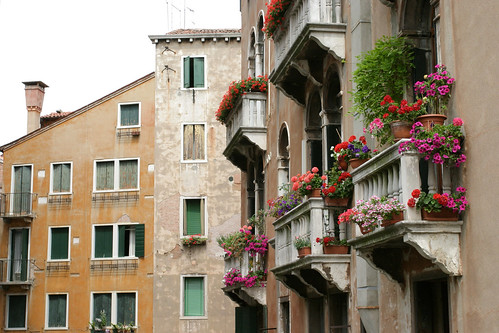 Flowered Balconies