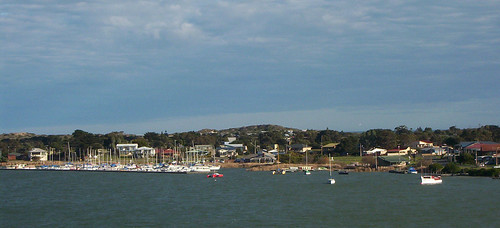 Goolwa viewed from bridge