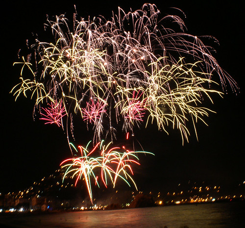 Pirotécnica festival fireworks