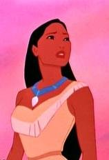 Pocahontas according to Disney