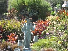 Statue, Lavender Farm
