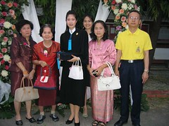 Group photo of Aunty Nut's Graduation