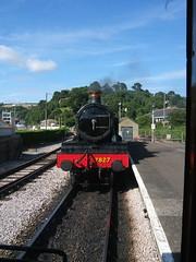 Shunting onto the Train
