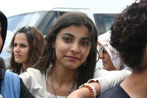 Girl at the Kurdish wedding