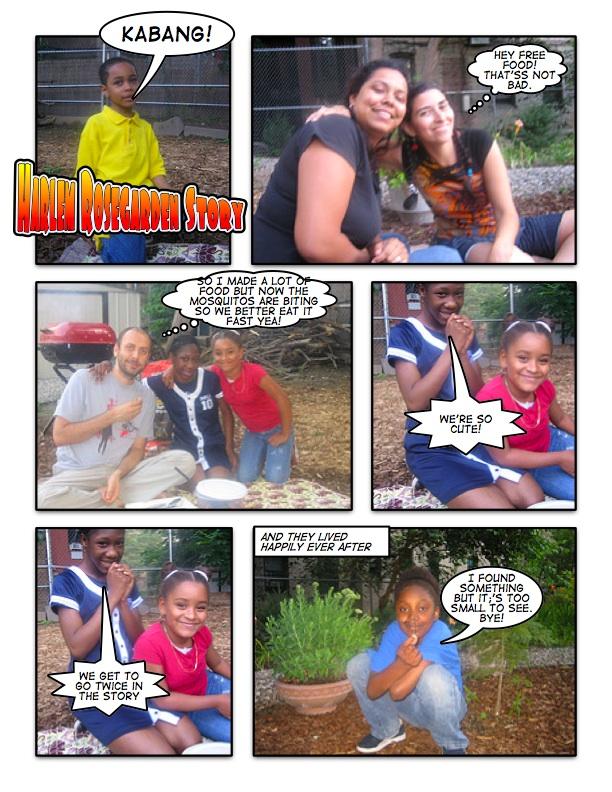 A Harlem Rosegarden Story