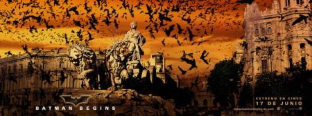 Batman Begins City Banner Madrid