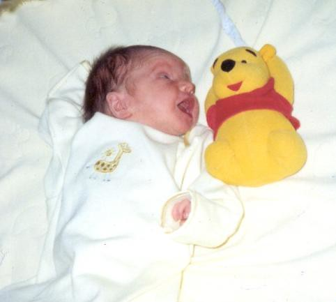hayley and pooh square
