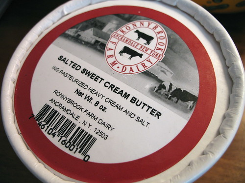 Ronnybrook Farm Dairy salted sweet cream butter