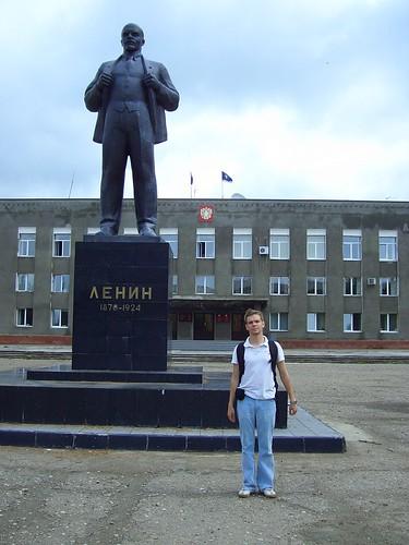 усть-ордынский ленин \ lenin at ust-orda