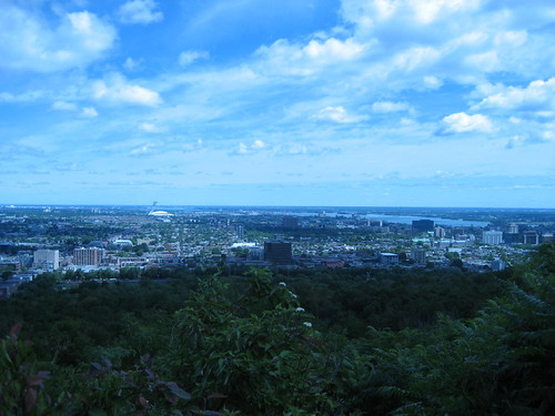 Montreal: view from Mont Royal