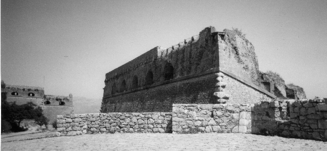 Castle of Palamidi, Nafplio, one of the artillery forts