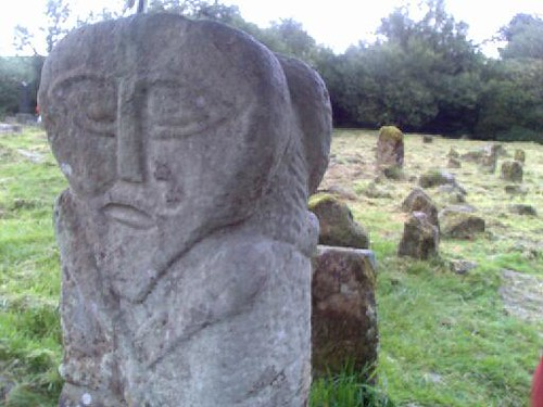 Boa Island Janus Stone