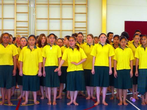 毛利傳統的歡迎儀式