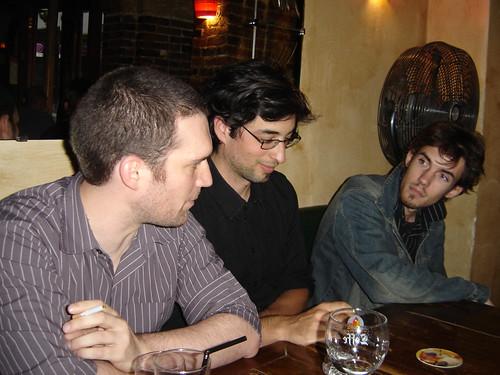 Laza et Damino (en partant de gauche)
