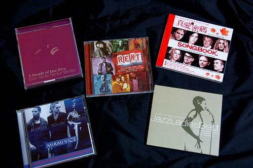 八月份CD清單