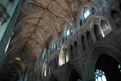 Worcester Cathedral Ceiling