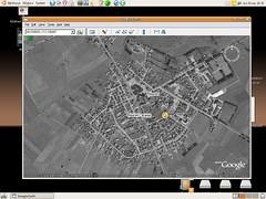 Stawiski na Google Earth