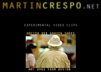 Movie clips created by Martin Crespo with the Nikon D50