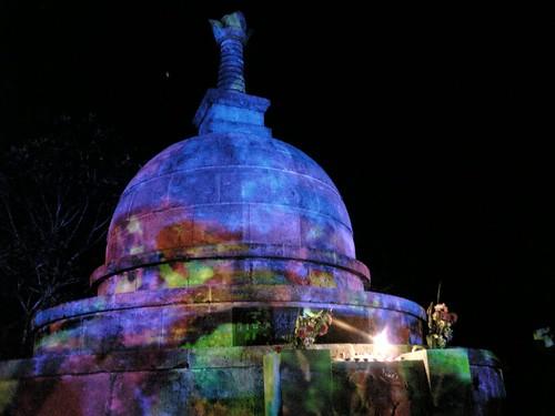 虹の祭 D-K 仏舎利塔20060909_NIJI06090900058