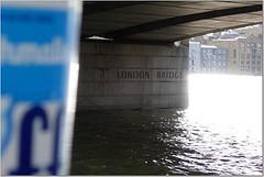 Fluff at London Bridge