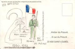 Carte postale 10vers