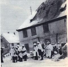 1945- Alsace - Illhaeusern -  Source - 1ere dfl épopée d'une reconquete