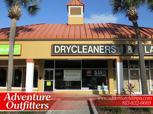 Adventure Outfiiters New Store Front