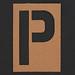 Stencil Letter P
