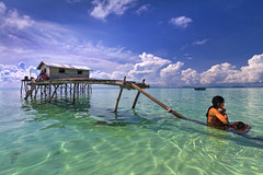 Lazy Afternoon_Sibuan island (Semborna, Malaysia) photo by spintheday