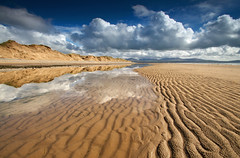 'Ripples And Reflections' - Newborough Beach photo by Kristofer Williams