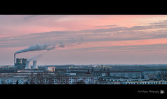 Industrial sunset photo by karl.wagner.photography