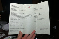 Pasquale's Trattoria Opening Night!