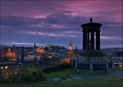 Edinburgh Dusk photo by Novantae