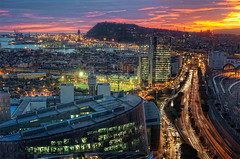 View – Vista de Barcelona (Spain), HDR photo by marcp_dmoz