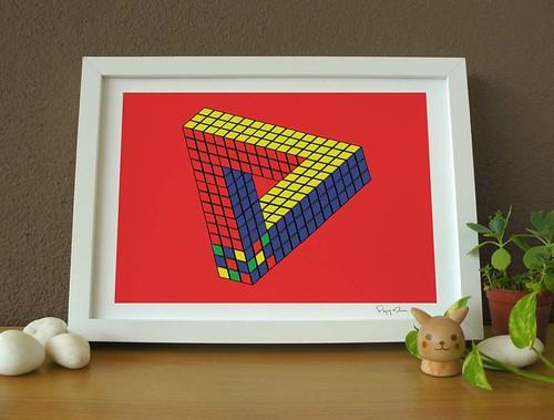 Magic Cube Always Confusing